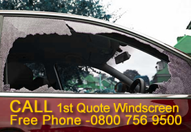 smashed car window repair